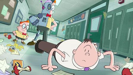 觀賞內褲隊長和狂暴圓圓廢的垃圾故事。第 2 季第 11 集。