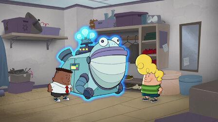觀賞內褲隊長與作業多頭蛇的可怕戰鬥。第 1 季第 3 集。
