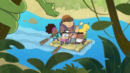 觀賞內褲隊長和暴怒的可怕毛怪利斯。第 2 季第 2 集。
