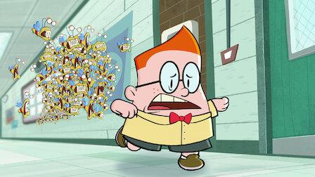 觀賞內褲隊長和麻煩屁屁蝶的詭異閃電行動。第 2 季第 7 集。