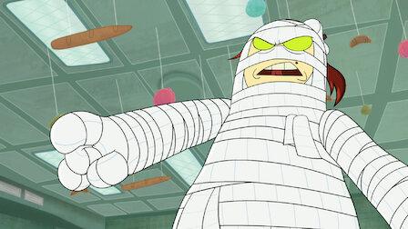 觀賞內褲隊長與衛生紙木乃伊的可怕危險厄運。第 1 季第 5 集。