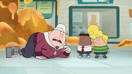 觀賞內褲隊長和痛苦蜂校的有害恐怖事件。第 2 季第 3 集。